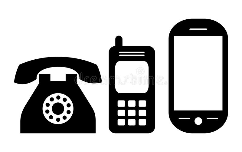 phone icon stock vector  illustration of mobile  design