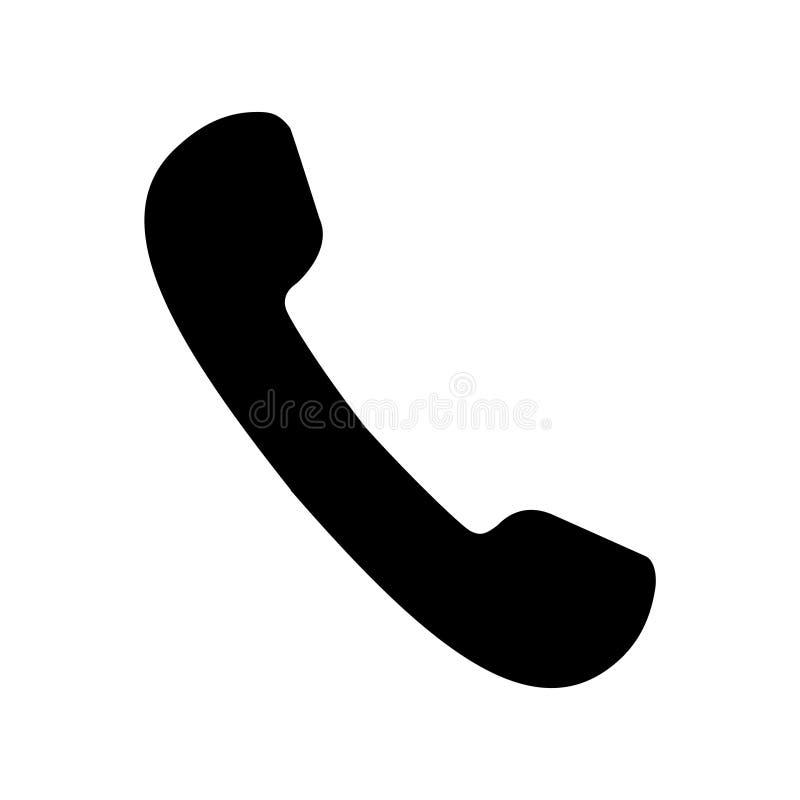 Phone icon vector. Phone trendy flat icon symbol illystration royalty free illustration