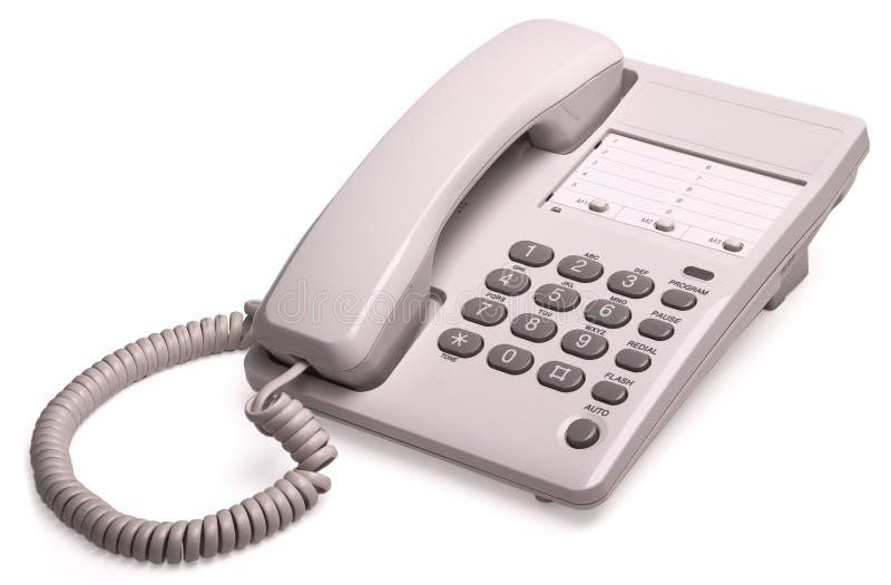 Phone isolated stock image
