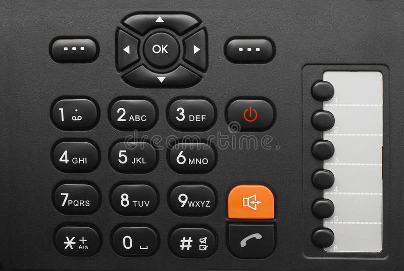 Download Phone keypad stock photo. Image of modern, call, list - 24339908