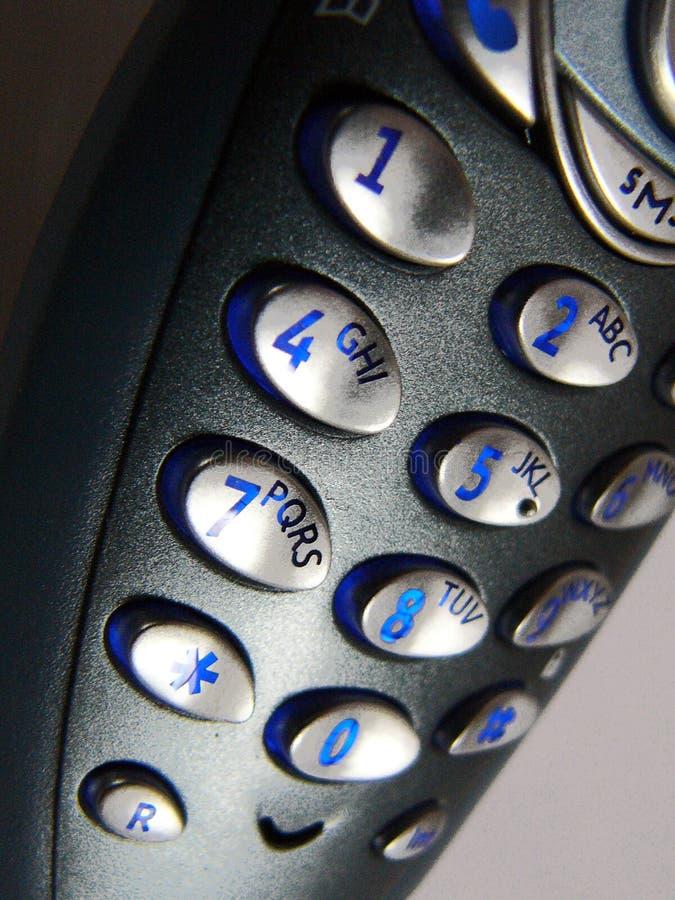 Phone keys royalty free stock photo