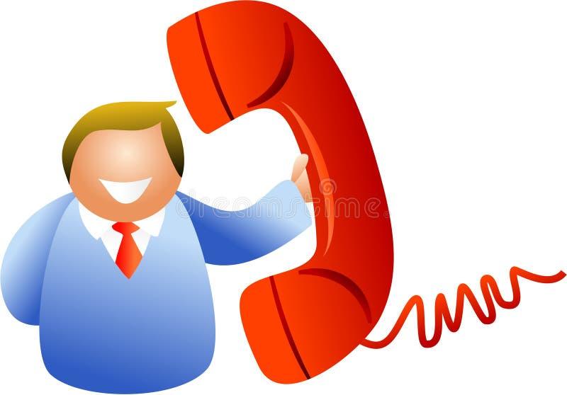 Phone Man Stock Image