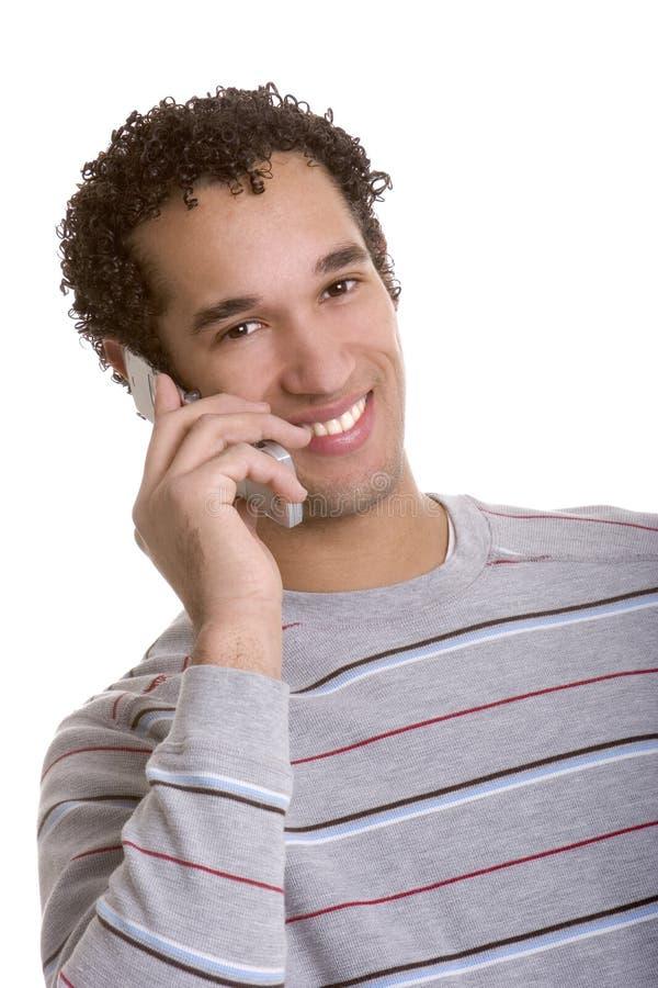 Phone Man stock photos