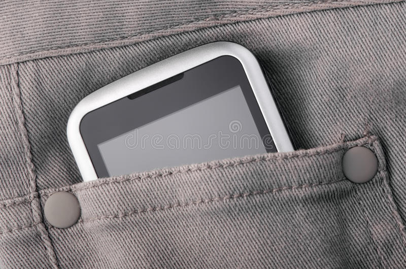 Download Phone in pocket stock image. Image of up, organizer, mobility - 32794227