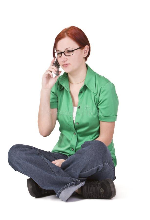 Phone reaction royalty free stock photos