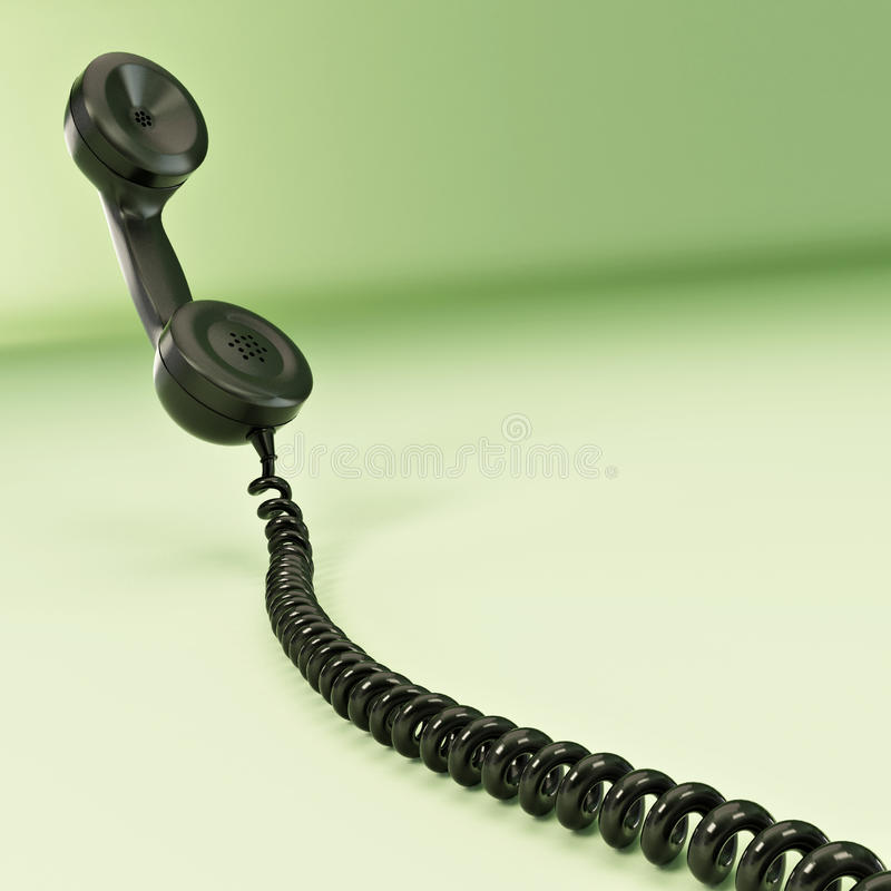 Download Phone reciever. 3d stock illustration. Image of ideas - 17711584