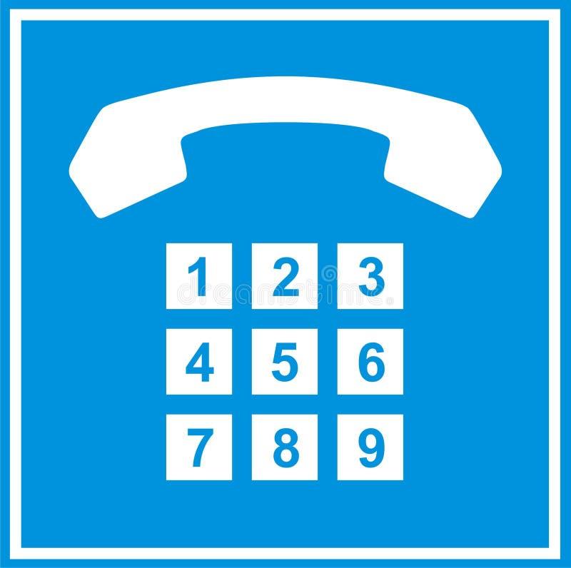 Phone sign vector illustration