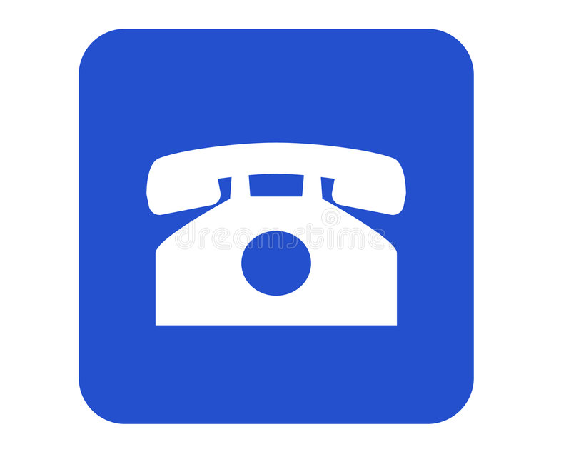 Download Phone sign stock illustration. Image of calling, information - 512496