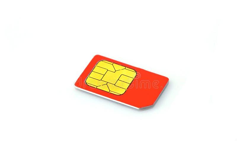 Phone SIM Card Stock Image