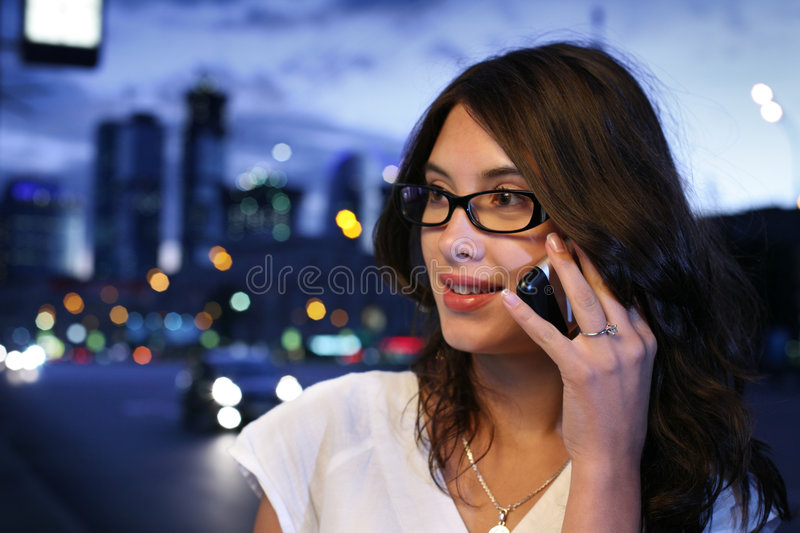 Download Phone talk stock photo. Image of call, close, blur, alone - 8614676