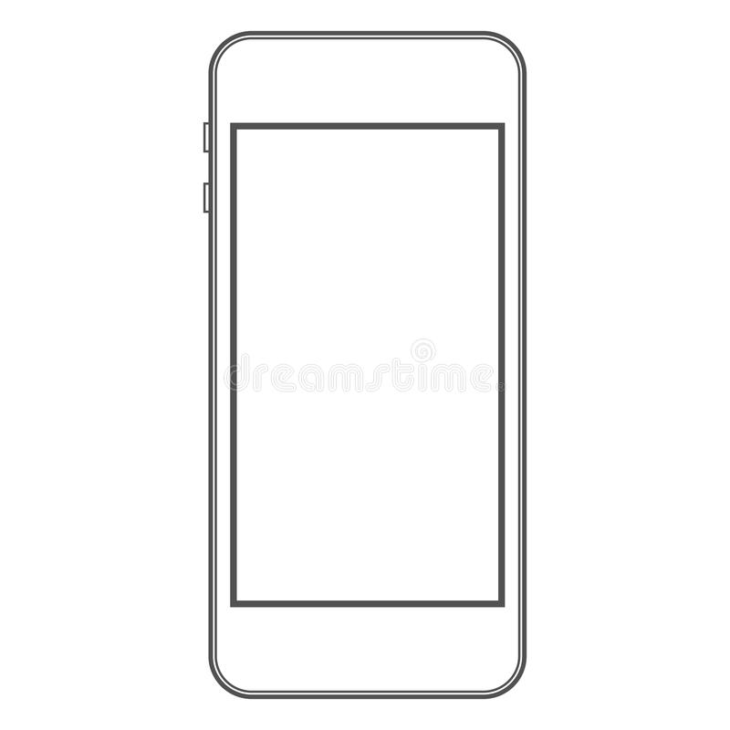Phone Template Stock Vector - Image: 60268067