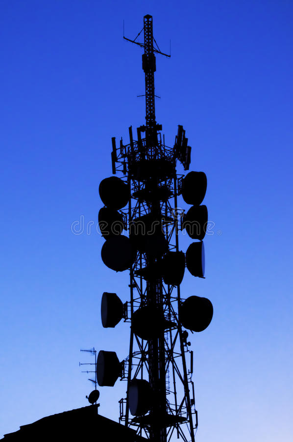 Download Phone tower stock photo. Image of radio, tall, modern - 20091028