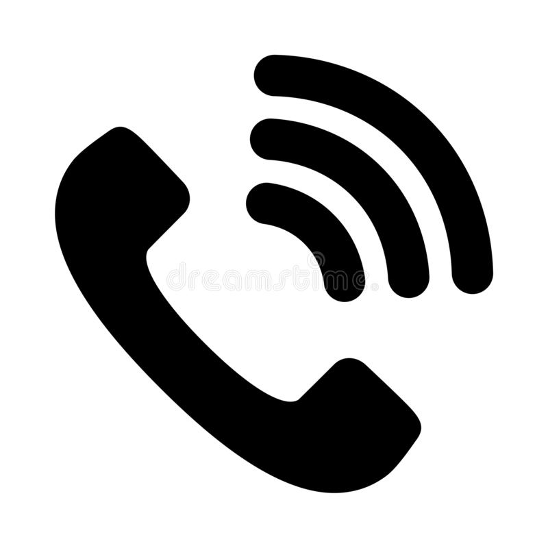Phone vector icon stock vector. Illustration of background - 166354863