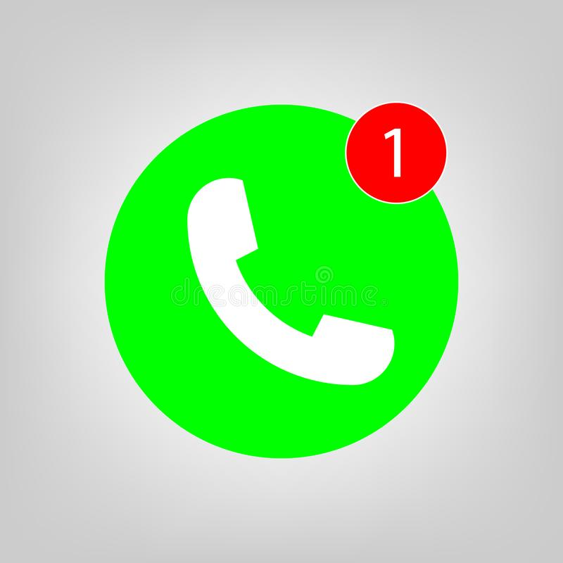 Phone Call Icon Vector, Sosial Media Symbol For Graphic