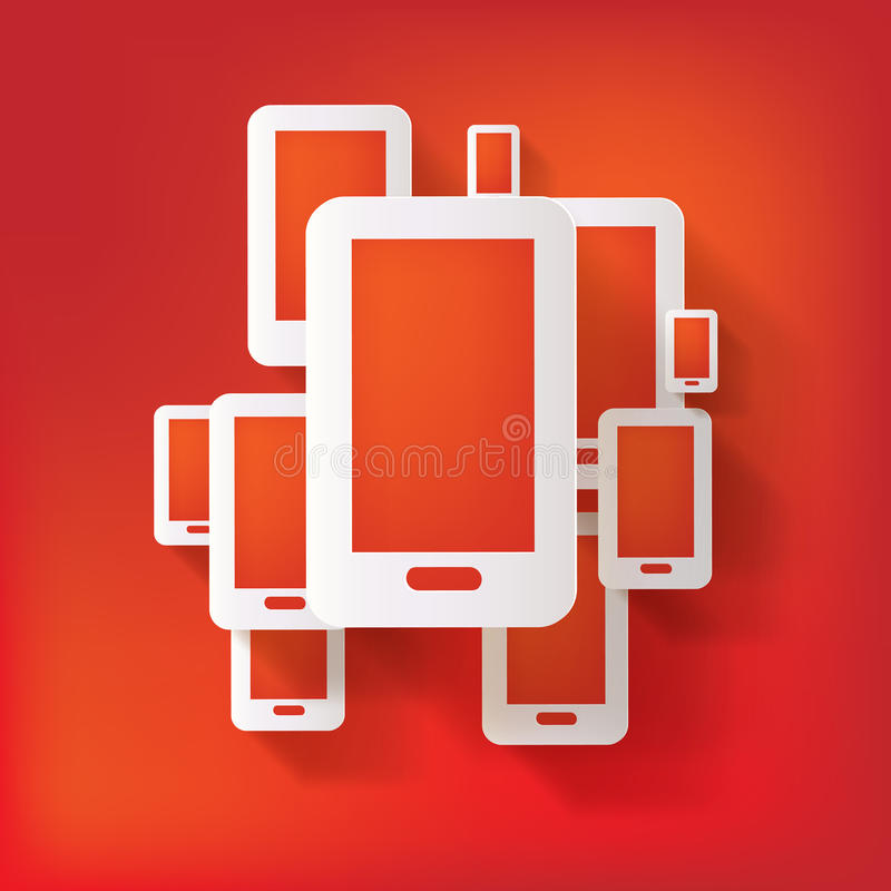 Download Phone web icon stock vector. Image of icon, internet - 34552498