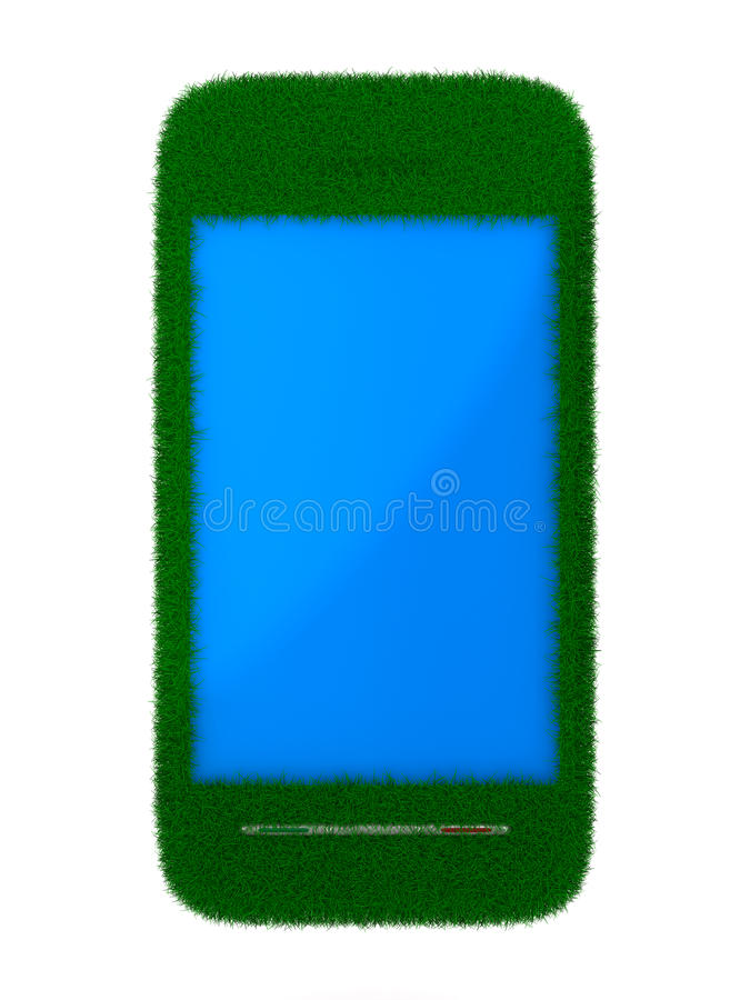 Download Phone On White Background. Isolated 3D Stock Illustration - Image: 18874888
