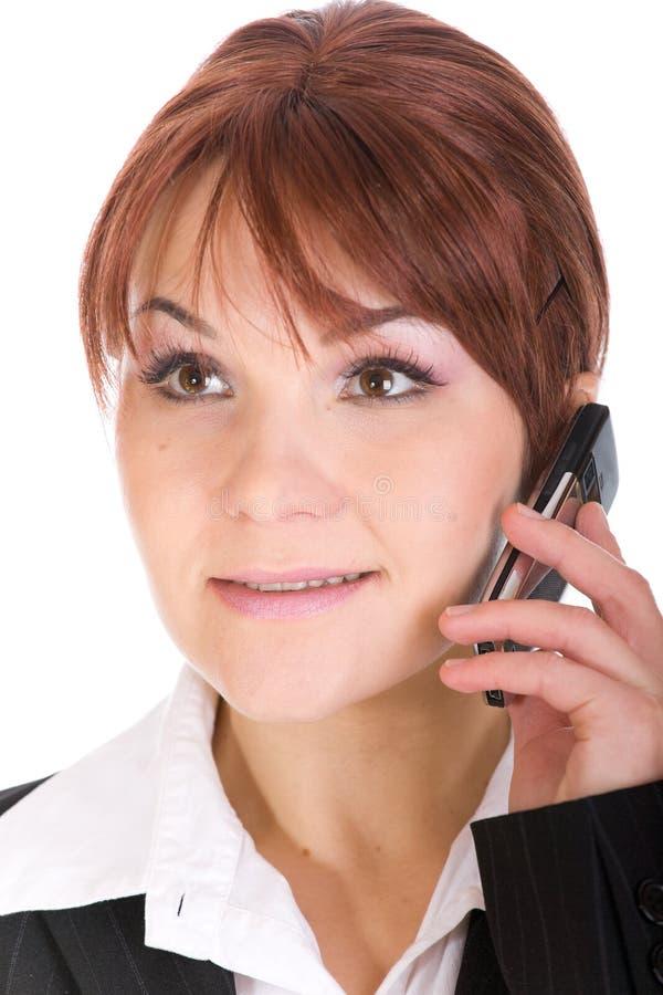 Download Phone woman stock image. Image of beautiful, communication - 8339551