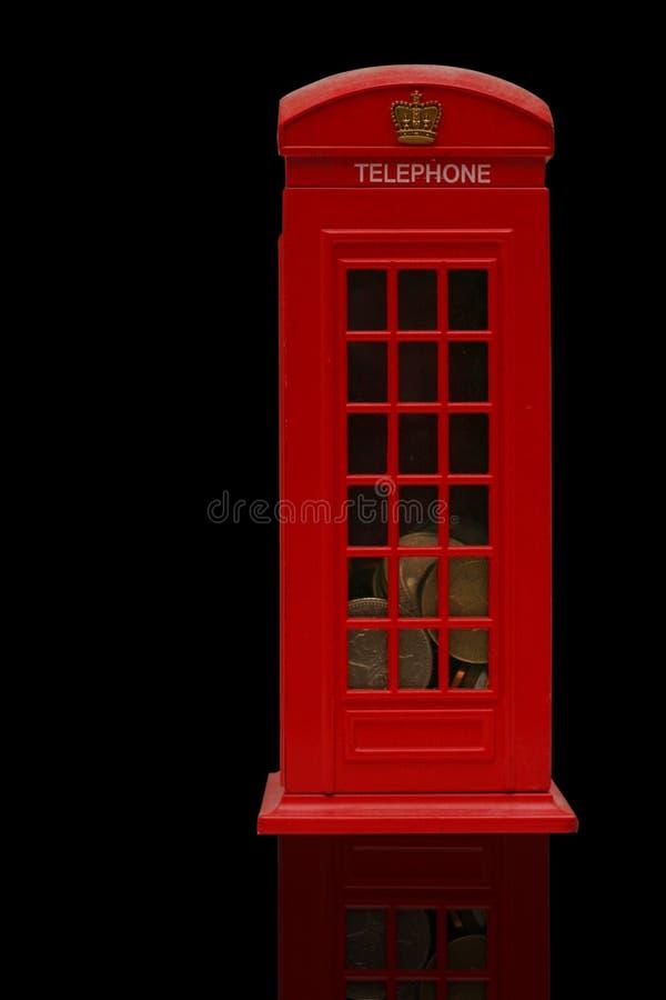 phonebooth红色 库存图片