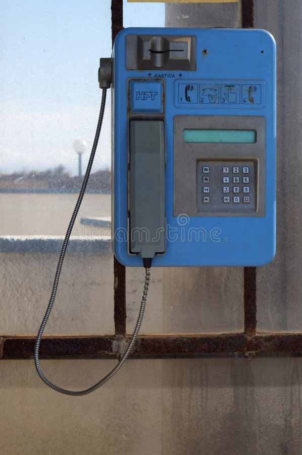 phonebooth obrazy stock