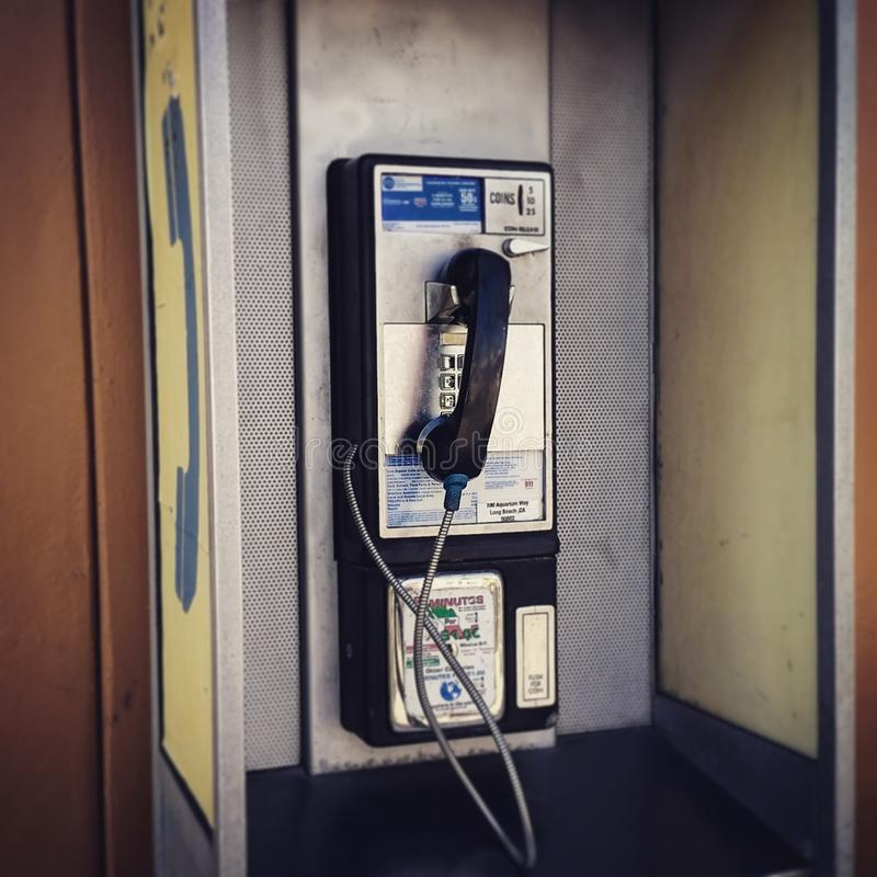 Phonebooth 免版税库存照片