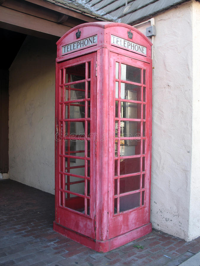 Phonebooth 2 royalty-vrije stock afbeelding