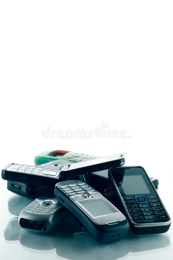 Free Phones Royalty Free Stock Images - 8604699