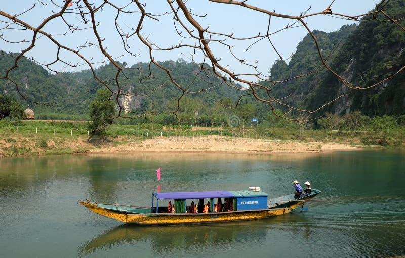 Phong Nha, Ke Łomota jamę, Wietnam podróż obraz royalty free