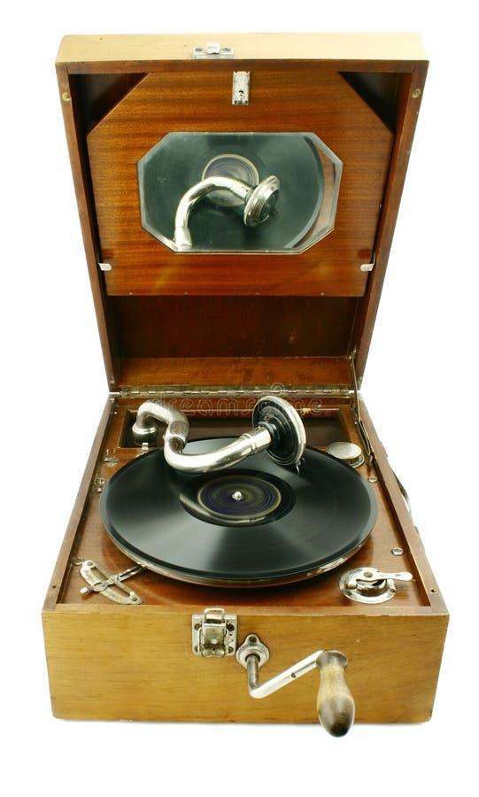 Phonographe image stock