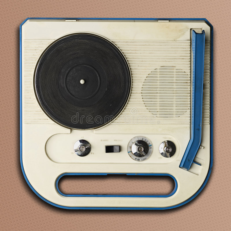 Phonographe photographie stock