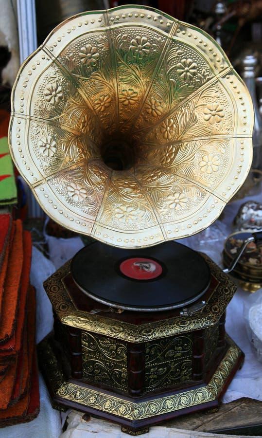 Phonographe de cru photographie stock