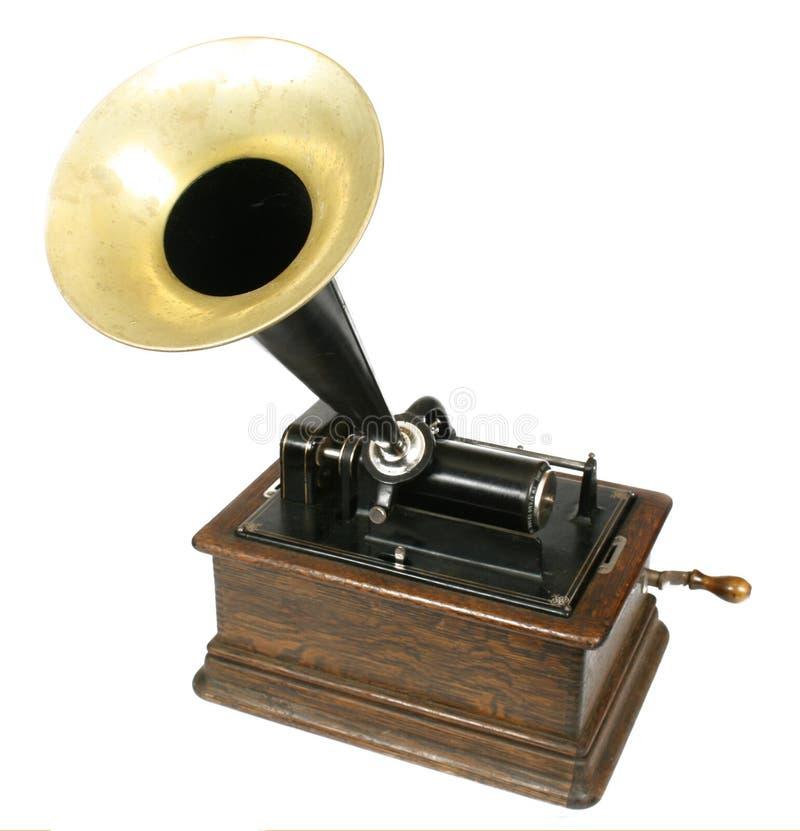 phonographtappning royaltyfri fotografi