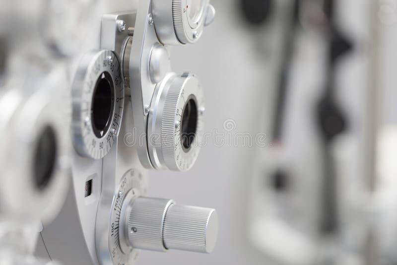 Phoropter stock afbeelding