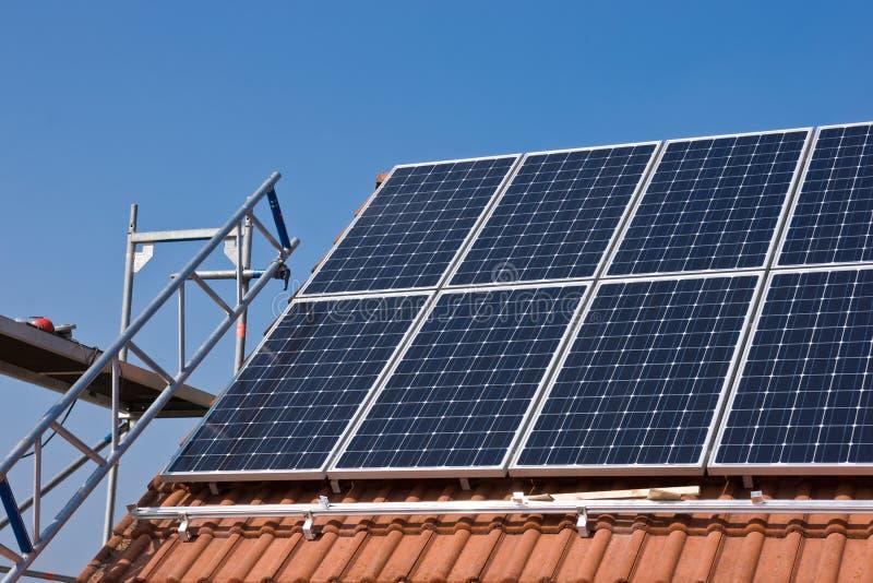 Phorovoltaicsteun stock fotografie