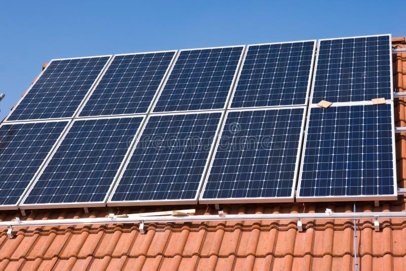 Phorovoltaicsteun stock foto