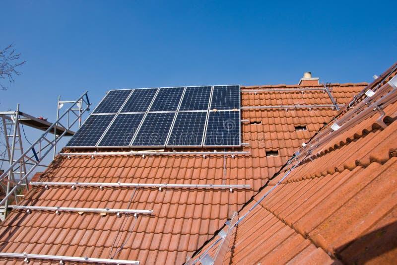 Phorovoltaicsteun royalty-vrije stock afbeeldingen