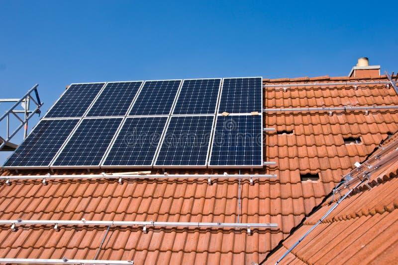 Phorovoltaicsteun stock afbeelding