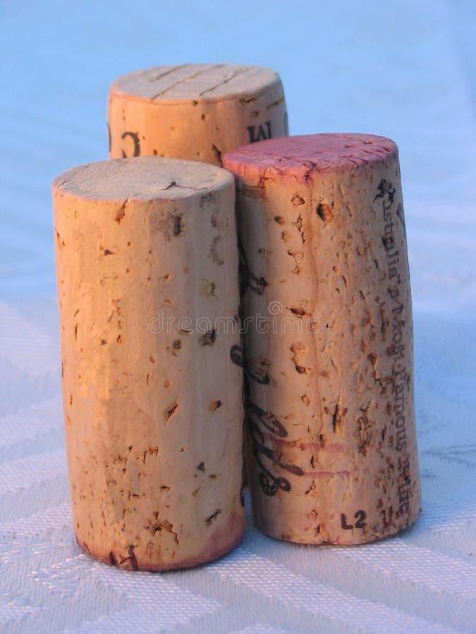 Photo 7 de vin image libre de droits