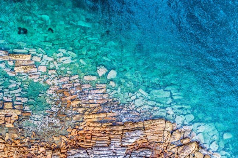 Photo aérienne de Sydney - baie de Watsons images libres de droits