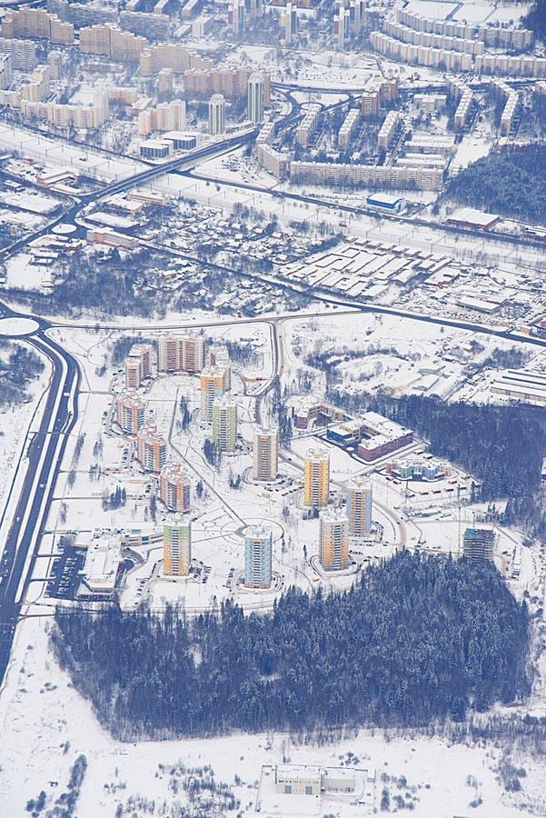 Photo aéronautique Moscou d'avion image stock