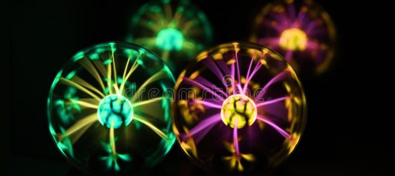 Photo abstraite des vagues électriques images libres de droits