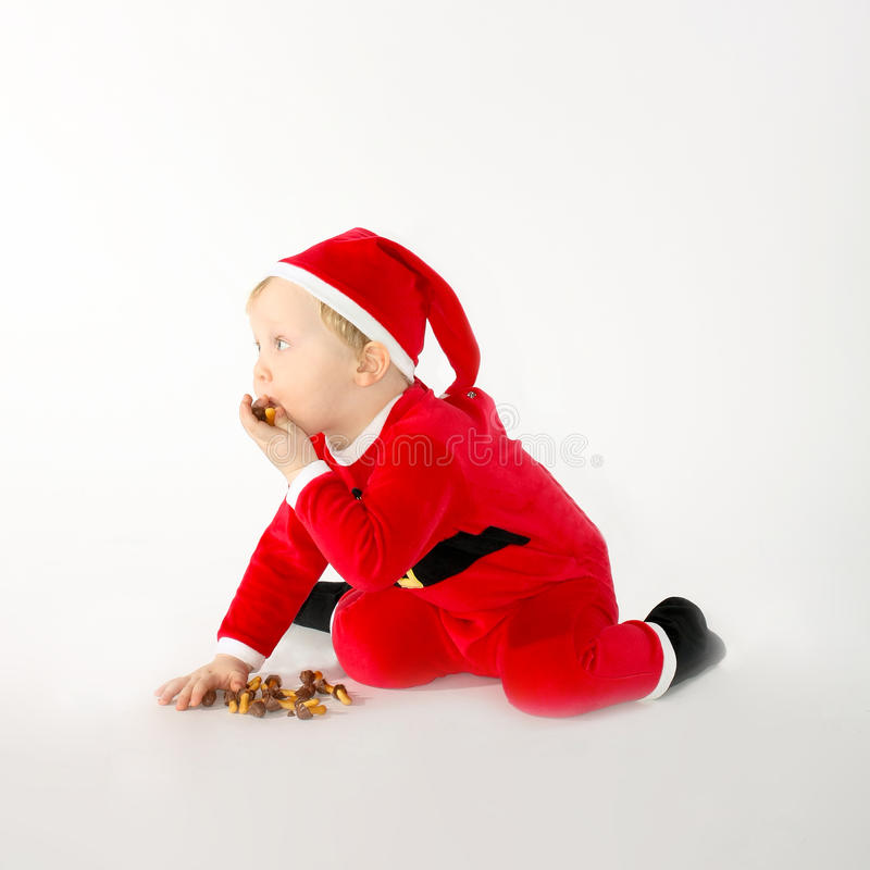 Photo of adorable young boy royalty free stock images