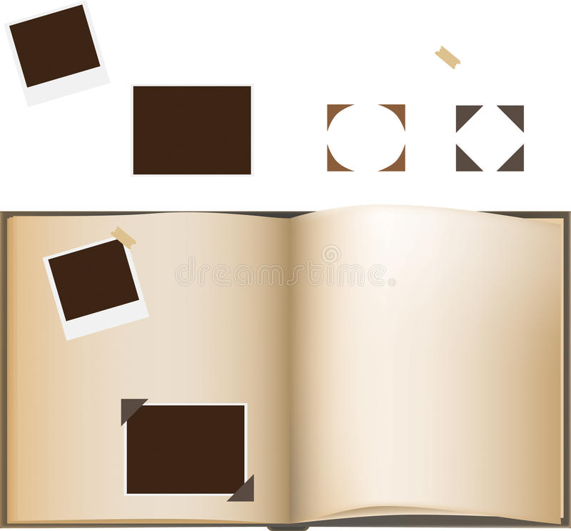 Download Photo Album stock vector. Illustration of photo, plaster - 10006287