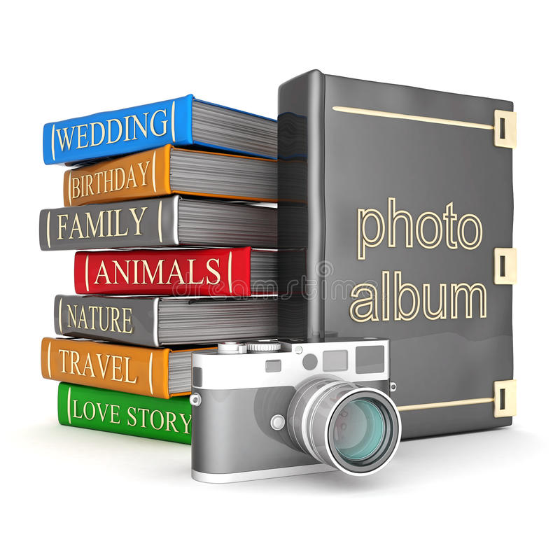 Download Photo album stock illustration. Illustration of family - 23828895