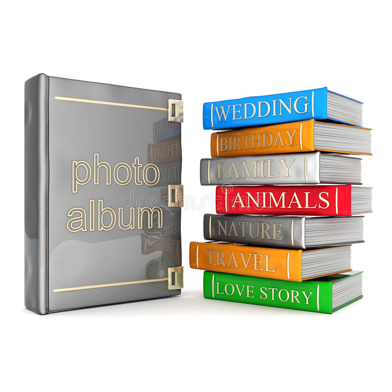 Photo Album Royalty Free Stock Images