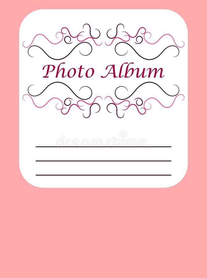 Download Photo album cover stock illustration. Image of decorative - 15563800
