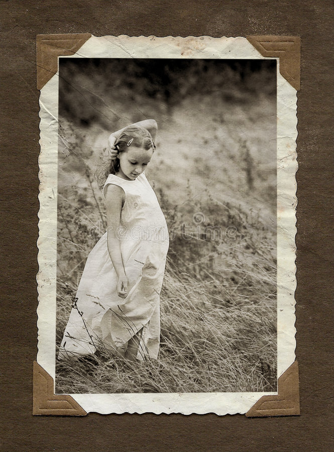 Download Photo album page stock image. Image of border, card, drawing - 7385645