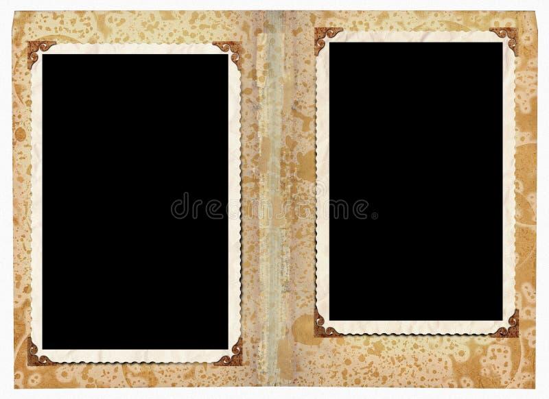 Download Photo album stock illustration. Image of grunge, frame - 33486958