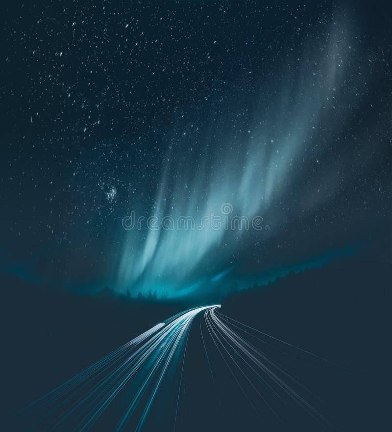 Photo of Aurora Borealis during Night Time royalty free stock image