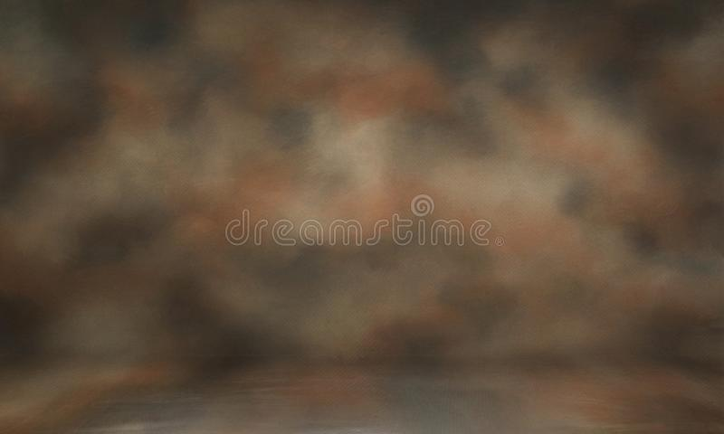 Photo backdrop background studio photography. Black classic portrait studio background stock images