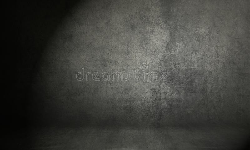 Photo backdrop background studio photography. Black classic portrait studio background stock photo